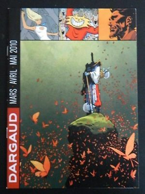 Editions Dargaud - Programme des parutions : mars avril mai 2010