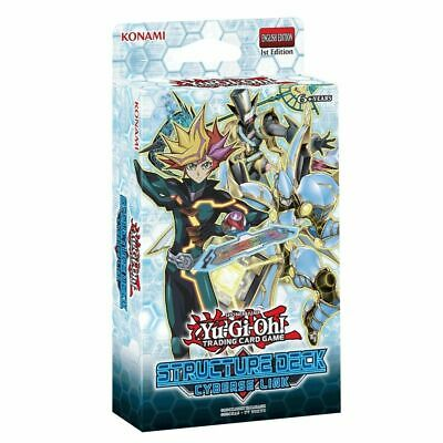 Yu-Gi-Oh! TCG Cyberse Link Structure Deck New In Stock
