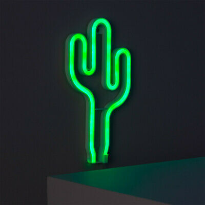 Neon LED Cactus Decoración LED Tipos Luces de