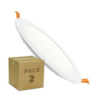 Pack Placa LED Circular SuperSlim 18W (2 un) Packs de Productos