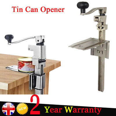 Easy Use Catering Commercial Bench Can Opener Tin Opener Heavy Duty UK Local