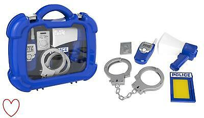 Childrens Kids Police Officer Role Play Case Toy Set