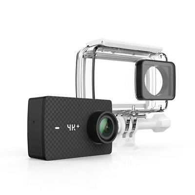 YI 4K+/60fps Action Camera with Waterproof Case, Plus Voice Control and Black