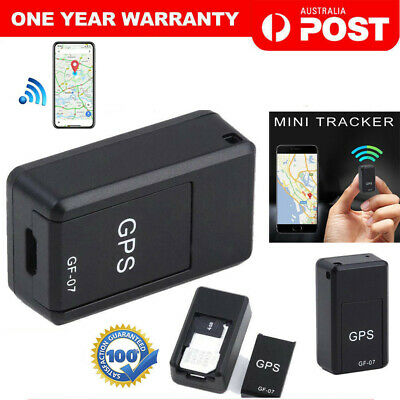 Magnetic Mini GPS Tracker Car Spy GSM GPRS Real Time Tracking Locator Device AU