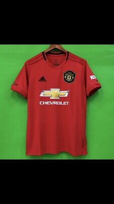 Manchester United HOME SHIRT 2019/20 Mens XL L New With Tags