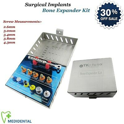 Surgical Dental Implants Bone Expander Kit Sinus Lift Manipulating Placements CE