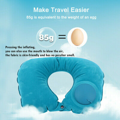New Particles Neck Pillow Cushion Support Car Plane Travel Soft Cotton U Shaped