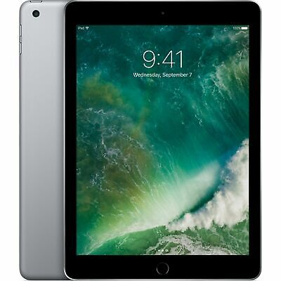 "Apple iPad  6th Gen (2018) 9.7"" 128GB WiFi Apple iOS 11 - Space Grey NEW"