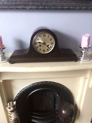 Antique STRIKING MANTLE CLOCK 1900's Spare Repair