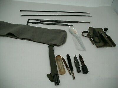US M1 Grand Butt Stock Cleaning Rod Set, Mosin Nagant, Pistol & rifle Cleaning