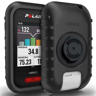 TUSITA Silicone Skin Case Cover for Wahoo Elemnt GPS Bike Computer with Screen