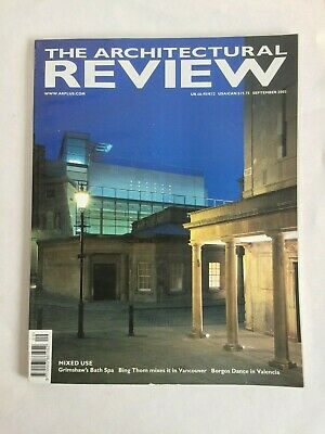 Architectural Review Architecture Design Magazine Sept 2003 Grimshaw Bing Thom