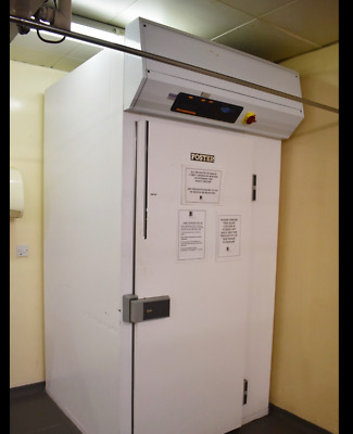Foster Blast Chiller With White Exterior And Digital Control Panel