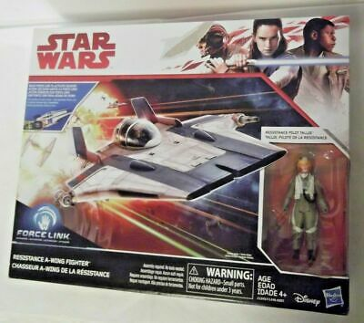 Star Wars Resistance A-Wing Fighter Force Link Activated 6+ Assembly. New