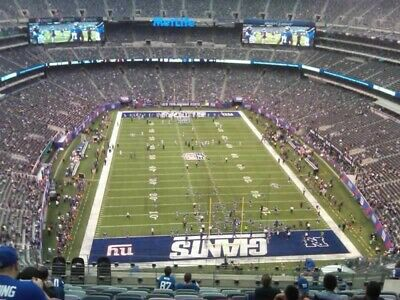Ny Giants Vs Dallas Cowboys - 4 Tickets & 1 Blue Parking Pass - 11/4/19 - Mnf!