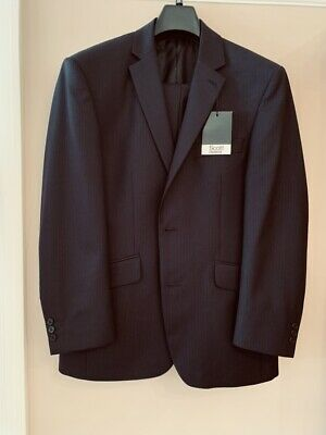 BNWT 38 SHORT NAVY BLUE 2 PIECE SUIT - Scott by The Label  FREE POST & PACKAGING