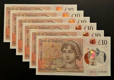 1 x New 2017 Polymer ** BANK OF ENGLAND ** 10 Pound Note ** MINT UNCIRCULATED!!