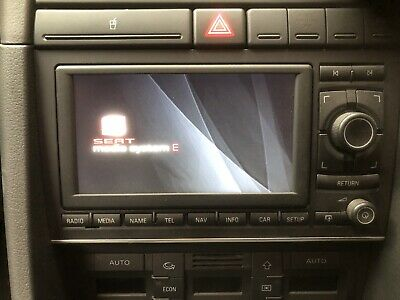 SEAT EXEO Satellite Navigation Media Unit 3r0035192 Sat Nah Radio Cd 2011