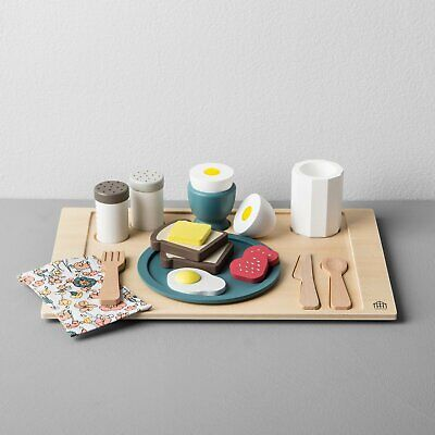 Hearth & Hand with Magnolia Wooden Toy Breakfast Tray