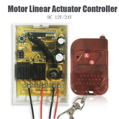 Motor Linear Actuator Controller Wireless Remote Forward Reverse Control New