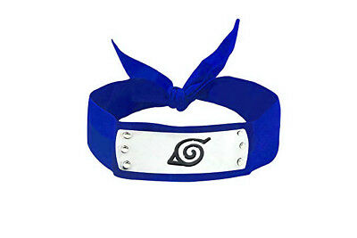 Japanese Anime for Red Leaf Village Headband Blue Cool Party Fashion Chic Hat