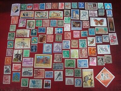 WORLDWIDE - 99 x WORLD STAMPS (4) - ALL DIFFERENT
