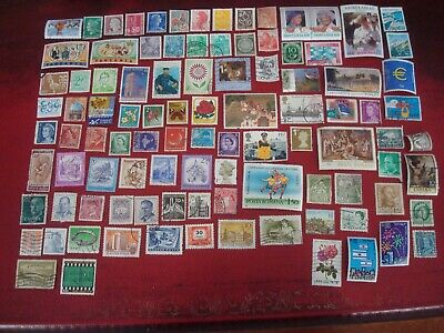 WORLDWIDE - 99 x WORLD STAMPS (10) - ALL DIFFERENT