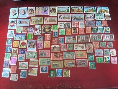 BRITISH COMMONWEALTH - 99 x BRITISH COMMONWEALTH STAMPS (4) - ALL DIFFERENT