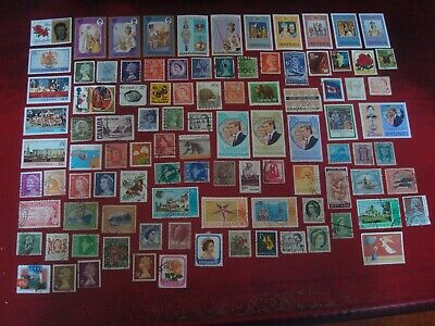 BRITISH COMMONWEALTH - 99 x BRITISH COMMONWEALTH STAMPS (1) - ALL DIFFERENT