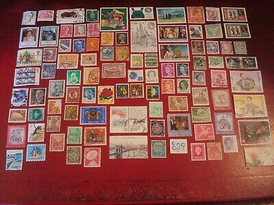 WORLDWIDE - 99 x WORLDWIDE STAMPS (6) - ALL DIFFERENT