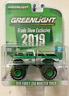 1974 Ford F-250 Monster Truck GREENLIGHT Trade Show LIMITED 1:64 2019 Toy Fair