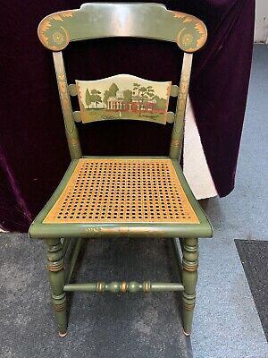 Rare Hitchock Thomas Jefferson Monticello Chair, Local Pick-up