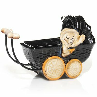 Yankee Candle BONEY BUNCH BABY CARRIAGE Tealight Candle Holder 2012 NEW In Box