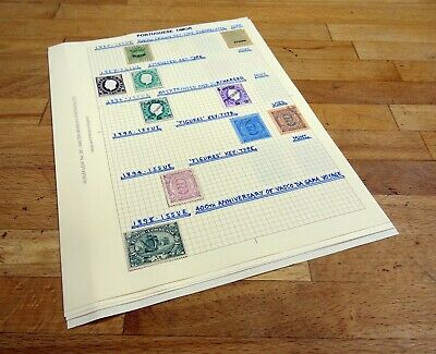 PORTUGUESE TIMOR Mint/Used, Sets, etc. on Pages. (12 pics)