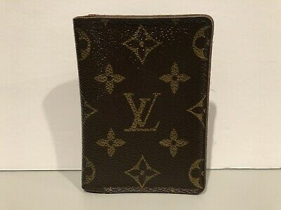 Louis Vuitton Monogram Pocket Organizer Wallet LV Pattern LOUIS VUITTON!
