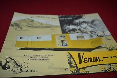 Venus Mobile Homes Dealer's Brochure AMIL15