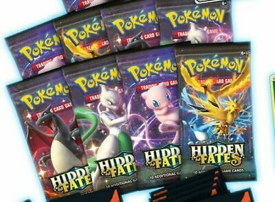 Pokemon TCG Hidden Fates Booster Pack Available NOW