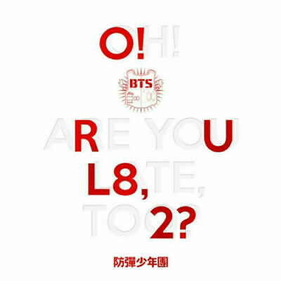 "SJmusic [BTS] ""O!RUL8,2?"" 1st Mini Album CD+PhotoCard+Booklet+GiftCard+POSTER"