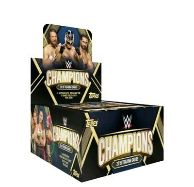 Wwe Champions 2019 Trading Cards Full Box Worth £48 Bargain