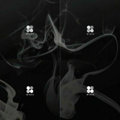"SJmusic [BTS] ""WINGS"" 2nd Album (Random), CD+PhotoBook+PhotoCard, SEALED"