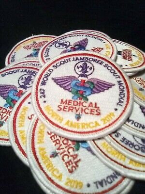 10 2019 24th World Scout Jamboree Medical Services IST Patches