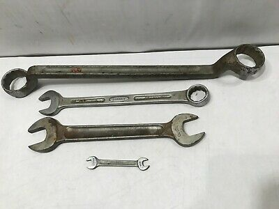 Four Vintage Bonney Zenel Wrenches 1167 H14 30330 2812A Made in USA Lot of 4