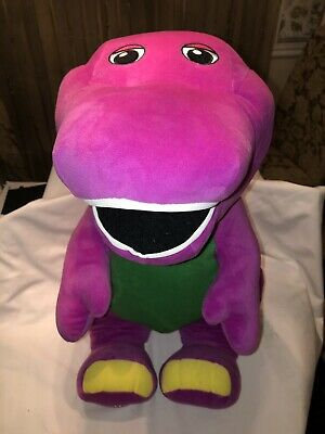 10'' BARNEY SING I LOVE YOU Song Plush Doll Toy Christmas