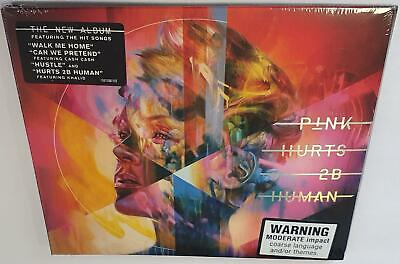 Pink Hurts 2B Human (2019 Release) Brand New Sealed Australian Pressed Cd