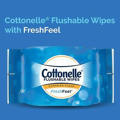Cottonelle Flushable Wipes 330 ct. or (1) Single Wet Wipes, 42 ct. w/ TUB *NEW*