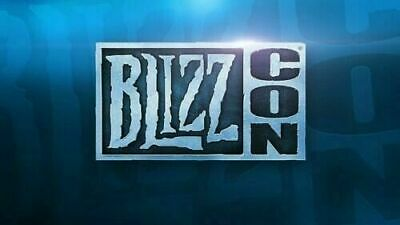 Blizzcon 2019 - Badge Pass & Footman Statue & Virtual Goods