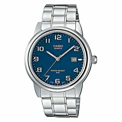 Casio Gray watch Collection Mtp-1221a-2a Grey/Blue