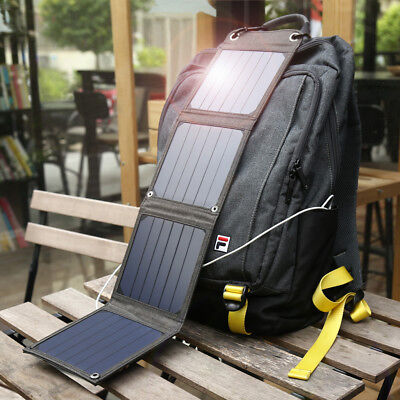 7W 14W 60W Suaoki Sunpower Solar Panel Charger 5V USB Charging for Mobile Phone