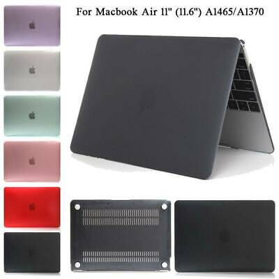 """For Apple Macbook Air 11 inch (11.6"""") A1465/A1370 Clear Hard PC Case Cover Shell"""