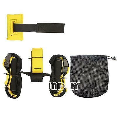 New! Quality Suspension Trainer Straps Kit Gym Training Mma Workout System